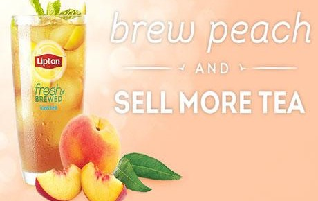 Free Sample of Lipton Peach Fresh Brewed Iced Tea